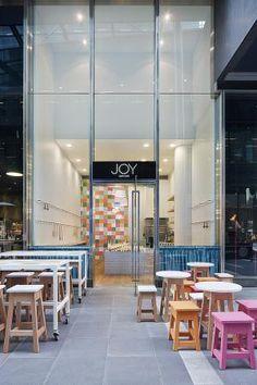 Joy Cupcakes Cake Shop Design by MIM Design