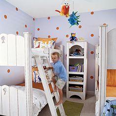Coastal Kids' Rooms | Coastal Color | CoastalLiving.com