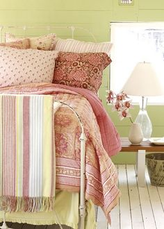 Comfy country bedroom