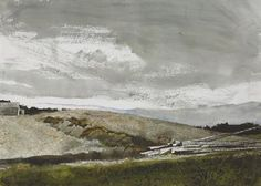 Andrew Wyeth Watercolor Paintings | Andrew Wyeth (1917-2009) | Harbor House | American Art Auction | 20th ...