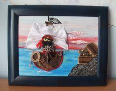 "MarasquinDecor: Tablou ""Pirati 2"""