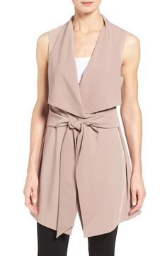 Adding elegance to the work wear with this gorgeous vest that is easy to layer.