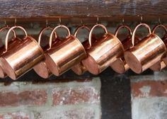 We sell copper Moscow Mule mugs, cups, and tankards in barrel, hammered, & smooth cup set styles. You can find both lined and solid unlined mugs in many