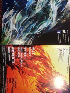 concert programmes arrived!