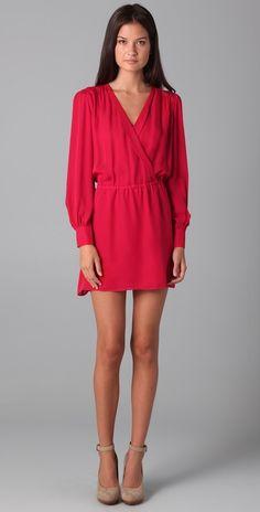 Parker Faux Wrap Dress