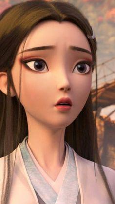 Anime Couples Drawings, Couple Drawings, Character Art, Character Design, Web Design, Cg Artist, Barbie Princess, Cute Korean Girl, 3d Cartoon