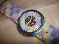 This was my first pop swatch....a gift from my father