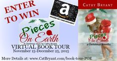 #Giveaway of PIECES ON EARTH (Christian Christmas novella) at this stop on the book's virtual tour: http://kswederski.com/?p=13423