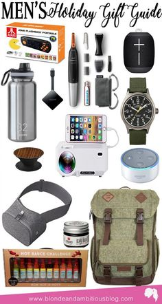 Holiday Gift Guide Guides Mens Christmas Birthday