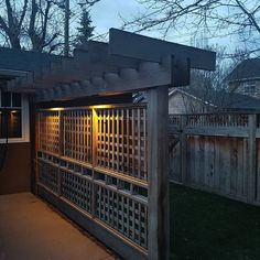 More Great Lighting from our Elbow Park Landscape Lighting Design #landscapedesign #landscapelighting #landscaping & Check out this Lattice Landscape Lighting on this beautiful ... azcodes.com