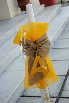 Palm Sunday, Baptism Ideas, Baptisms, Candels, Baby Time, Baby Decor, Christening, Wedding Favors, Arts And Crafts
