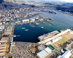 Commander Fleet Activities Sasebo, Japan Great Places To Travel, Places To See, Places Ive Been, Sasebo Japan, Travel Around The World, Around The Worlds, Navy Day, Beautiful Places To Live, City Photo