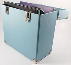 LP Record Case LP Record Storage Portable Carry Case for LPs and 12-Inch Vinyl #LPRecordCase