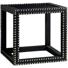 Bungalow 5 Marco Black Low Table found on Polyvore