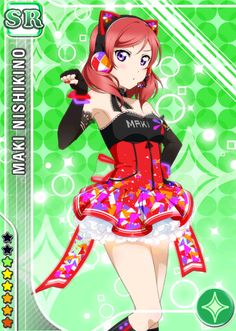 Cards of School Idol Festival - ♥  ~ Cyber Version ~ ♥ [2/4] ♥