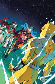 Avatar Zuko, Buy Comics, Boom Studios, Go Go Power Rangers, Kamen Rider, Video Game, Nerd, Artist, Artwork