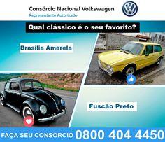 Existem carros que marcaram toda uma geração. Alguns Volkswagen que foram sucesso de vendas, forma a Brasília Amarela e o Fuscão preto. Os dois até mesmo viraram letra de música. E você? Qual deles marcou sua geração? Deixe sua resposta nos comentários.