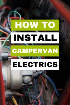 Campervan Electrics Diagram For Easy Installation!. Learn how to install campervan electrics in your self build campervan conversion. We'll walk you through it step by step and have even provided a RV electrics diagram to make it easier! Your campervan electrics system doesn't have to be complecated; here's how! Living On The Road, Tiny Living, Self Build Campervan, Rv Mods, Best Camping Gear, Diy Rv, Van Life, Tool Design, Life Hacks