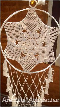 mandala atrapasueños a crochet 3