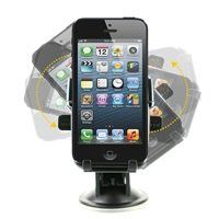 iOttie HLCRIO102 One Touch Windshield Dashboard Universal Car Mount Holder for iPhone 4S/5/5S/5C, Galaxy S4/S3/S2, HTC One DROID RAZR HD - Retail Packaging - Black $19.99