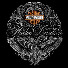 Harley-Davidson® Apparel  I love the guys work. So intricate and detailed!  I want to do something like this someday.