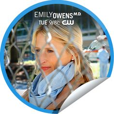 Emily Owens, M.D.: Emily and... The Alan Zolman Make New Friends, The Cw, Stickers, The Originals, Decals