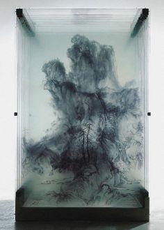 Exhibit & Display.- Xia Xiaowan- Ancient Chinese Landscape of Guo Xi (2007)