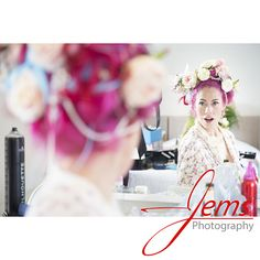 Bride getting ready for her big day. Bridal preperations #steampunk #badassbride #weddingfairy #wedding #weddingphotographywarwickshire #warwickshireweddingphotographer #weddingday #weddingphotography #alternativewedding #jemsphotography www.jemsphotography.co.uk