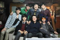 Jang Hyun Sung (장현성) and and the cast and director of the film Hwai.