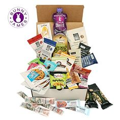 High Protein Healthy Snacks Fitness Box: Mix Of Natural, Organic, Non-GMO, Protein Bars, Cookies, Granola Mix, Jerky, Nuts, Premium Assortment Care Package (30 Count) *** Visit the image link more details. (This is an affiliate link) #healthysnackprotein