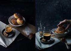 Italian doughnuts from  Sud Forno. Marielouphotography ©2016 #marielouphotography #foodstyling #SudForno #Toronto #italiandoughnuts #foodphotography #moodyfood #espresso #coffee #stilllife