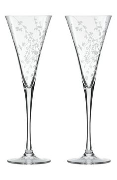 kate spade new york 'gardner street' toasting flutes (Set of 2) available at #Nordstrom