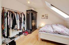 Pequeña buhardilla estudio de 43 m² para chicas