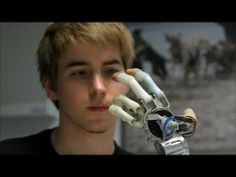 Demonstration of the newest high-tech bionic arm