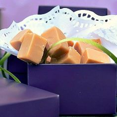 Caramel fudge. I love fudge! sorry I just cant get over fudge!!!!!!!!!!!!!!
