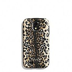 Coach :: SAMSUNG GALAXY S4 CASE IN MADISON OCELOT SILICONE