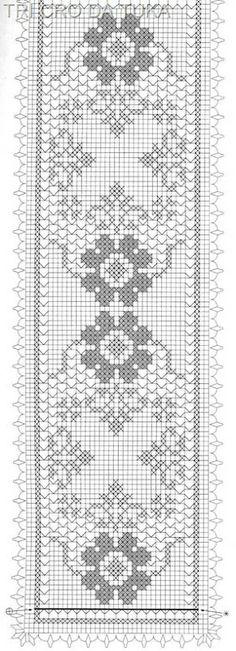 CAMINHO PARA PATRÍCIA FEITO COM LINHA CLEA 5 PRÁTICA - COR 8176 - TEX 196,7 - AGULHA 1,50MM