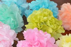 8 #Tissue Poms #{perfectly #pastel},  View more on the LINK: http://www.zeppy.io/product/gb/3/183692229/