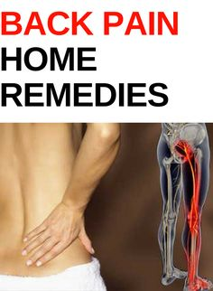 Home Remedies for Back Pain #BackPain #Sciatica