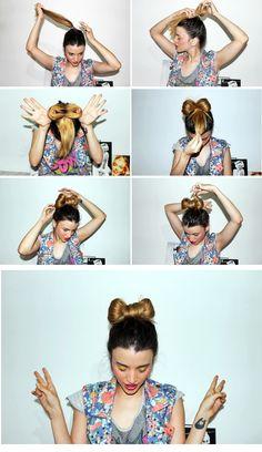 MissMonroe Un hermoso lazo en el cabello