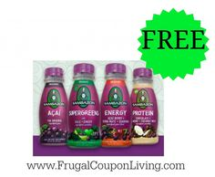Sambazon Organic Juice FREE At Walmart with Printable Coupon #free #freebies #walmart