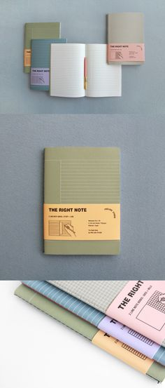 The Prelude Right Notebook makes writing way more interesting, as both right and left notes have different types of note! Light and easy to use, find the perfect combination for your need so you can have more fun time writing!