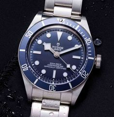 "*Blog Update - Read iN!* #Tudor 39mm Black Bay Fifty-Eight ""Navy Blue"" (Ref: M79030B) * Available wit Steel Bracelet, NATO strap, or ""Soft Touch"" Strap"