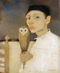 Jan Mankes, Self-Portrait, 1911