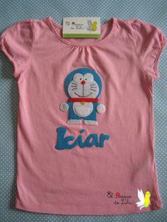 El Bosque de Lulú: Camiseta de Doraemon