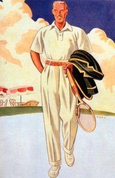 Gentiluomini al tennis, pique white cream