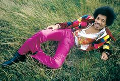Jimi Hendrix, Purple Pants?