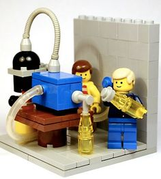 Beer-related LEGO projects: Check out this Custom Made Mini-Figure Brewery!