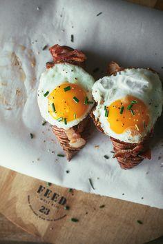 breakfast hasselback sweet potatoes