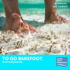 Repin if you can't wait to kick off your flip-flops in St. Maarten, St. Thomas and Nassau. Now imagine the warm sand between your toes and tell us why you love to go on vacation. #ultimategetaway